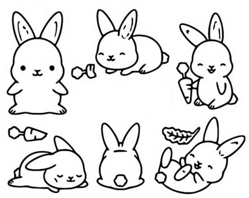 Conejos Kawaii Las Más Bonitas Imágenes Para